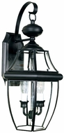 Quoizel NY8317K Newbury 20 inches tall outdoor wall light in mystic black