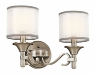 Kichler 45282AP Lacey 2-light Vanity in Antique Pewter