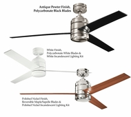 Kichler Arkwright Customizable 58 Inch Sweep Ceiling Fan With Blade & Finish Options