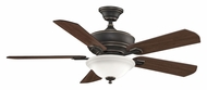 Fanimation Fans FP8095BA Camhaven Bronze Accented 52 Inch Sweep Home Ceiling Fan Light Fixture