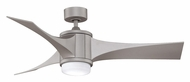 Fanimation Fans FPD7943MG Jennix Metro Gray Finish Contemporary 6 Speed Indoor 3 Blade Ceiling Fan