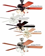 Kichler 339400 Sutter Place Premier Transitional 3 Light Ceiling Fan 52 Inch Blade Spread