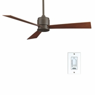 Fanimation Fans FP4620OB Zonix Contemporary Ceiling Fan in Oil Rubbed Bronze