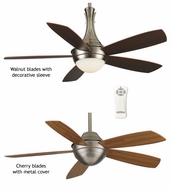 Fanimation Fans FP5420PW Celano Contemporary Ceiling Fan with Optional Downlight