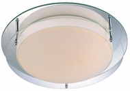 Lite Source LS5588 Belmont Small Contemporary Flush Mount Ceiling Light/Wall Sconce
