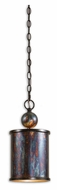 Uttermost 21920 Albiano 7 Inch Diameter Oxidized Bronze Mini Hanging Light