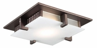 PLC 906-ORB Polipo Ceiling Light in Oil Rubbed Bronze