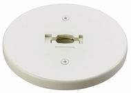 Cal HT301 Line Voltage Round Monopoint Mounting Plate for Track Lighting