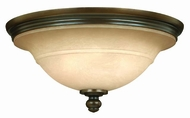 Hinkley 4241OB Plymouth Bronze Traditional Flush-Mount Ceiling Fixture