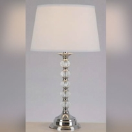 Lite Source LS22125 Aria Transitional 29 Inch Tall Clear Body Table Lamp