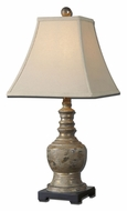 Uttermost 29299 Valtellina Taupe Gray Wish 25 Inch Tall Table Lamp Lighting