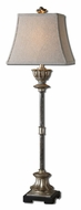 Uttermost 29317 La Morra 38 Inch Tall Antiqued Silver Champagne Table Top Lamp