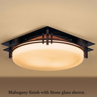 Hubbardton Forge 12-4394 Banded Flush-Mount Ceiling Light
