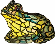 Meyda Tiffany 16401 Tiffany Frog Accent Lamp