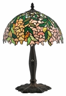 Meyda Tiffany 110322 Tiffany Laburnum 17 Inch Tall Living Room Table Lamp