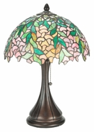 Meyda Tiffany 110323 Tiffany Laburnum 17 Inch Tall Table Top Lamp