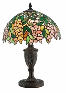 Meyda Tiffany 110324 Tiffany Laburnum 18 Inch Tall Accent Lamp Lighting