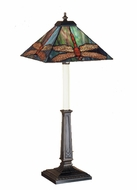 Meyda Tiffany 47833 Prairie Dragonfly 24 Inch Tall Tiffany Style Lamp