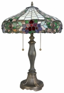 Lite Source LSC41236 Everly Large 3-light Tiffany Style Table Lamp