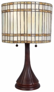 Lite Source LSCF41241 Danton 2-light Fluorescent Tiffany Table Light
