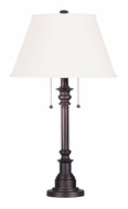 Kenroy Home 30437BRZ Spyglass Bronze 31 Inch Tall Lighting Table Lamp