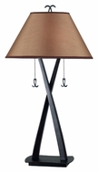 Kenroy Home 20100ORB Wright Oil Rubbed Bronze Finish 33 Inch Tall Transitional Table Light