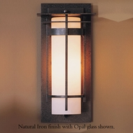 Hubbardton Forge 30-5992 Banded Outdoor Small Top Plate Sconce