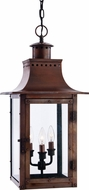 Quoizel CM1912AC Chalmers Large Copper 26 Inch Diameter Outdoor Lantern Pendant Light Fixture