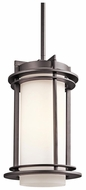 Kichler 49348AZ Pacific Edge Large Architectural Bronze Exterior Pendant Lighting Fixture