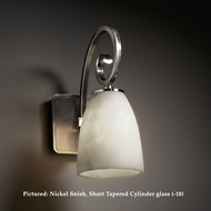 Justice Design CLD-8571 Victoria Classic 15 Inch Wide Cloud Glass Wall Light Fixture