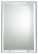 Quoizel QR1221C Norton Chrome 32 Inch Tall Contemporary Mirror