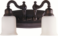 Feiss VS8002-ORB Canterbury 2-light 8 inch Vanity Light in Oil Rubbed Bronze