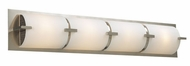 PLC 938 Ibex 4 Light Contemporary Vanity Fixture with Matte Opal Shade