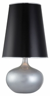 Lite Source LS21713SILV Griffin Table Lamp in Silver