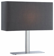 Lite Source LS21797CBLK Levon Contemporary Table Lamp in Black