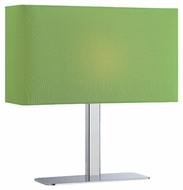 Lite Source LS21797CGRN Levon Modern Table Lamp with Green Shade