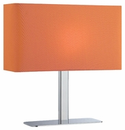 Lite Source LS21797CORN Levon Contemporary Table Lamp in Orange
