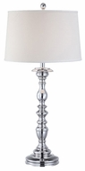 Lite Source LS21842 Euclid Traditional Chrome Table Lamp