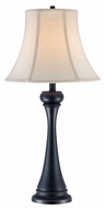 Lite Source LS21761 Ruth Black Bronze Traditional Table Lamp