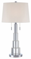 Lite Source LS21725 Kelson Modern Table Lamp with Crystal Stack Body