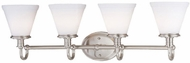 Lite Source LS16654PSFRO Bastien 4-light Contemporary Bathroom Vanity