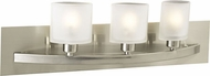 PLC 643 Wyndham Contemporary 3 Light Bathroom Light Fixture
