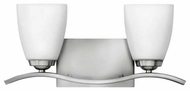 Hinkley 5372BN Josie 2-lamp Contemporary Vanity Light