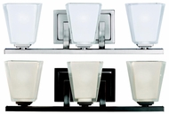 Kichler 5461 Urban Ice Contemporary 3 Light 19 Inch Long Lighting For Bathroom
