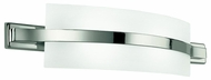 Kichler 45087PN Freeport Contemporary 22 Inch Wide Polished Nickel Lamp Sconce