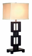 Kenroy Home 33240BL Opex Contemporary Style 30 Inch Tall Black Lamp