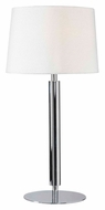 Kenroy Home 32134CH Milano Chrome Finish 32 Inch Tall Modern Table Light