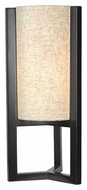 Kenroy Home 32161MBR Teton Modern Style 25 Inch Tall Living Room Table Lamp