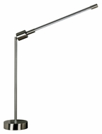 Kenroy Home 21448BS Tublette Contemporary 27 Inch Tall Desk Lamp