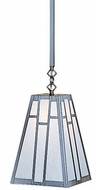 Arroyo Craftsman ASH-16 Asheville Craftsman Stem Mount Pendant Light - 16 inches wide